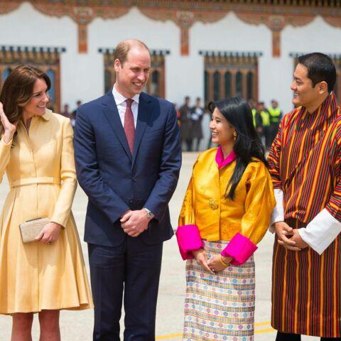 Kate et William, bien arrivés au Bhoutan