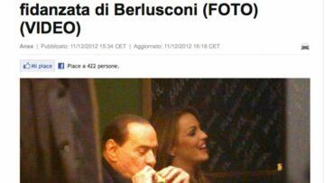 Une nouvelle fiancée pour Silvio Berlusconi