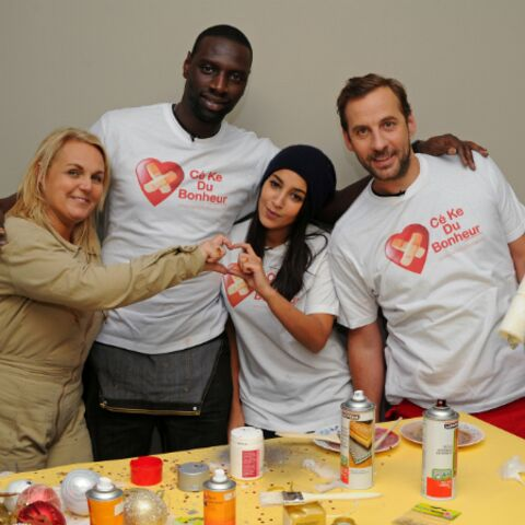 Avec Valérie Damidot, Leïla Bekthi, Omar et Fred, Cékedubonheur