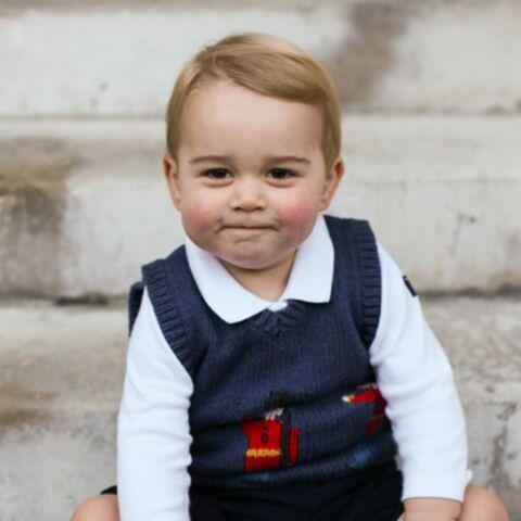 Baby George vous souhaite un joyeux Noël!