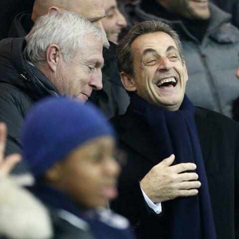 Régionales ou pas, Nicolas Sarkozy supporte le PSG!