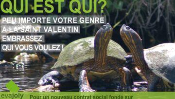 Saint-Valentin: Eva Joly se penche sur l'égalité femmes-hommes
