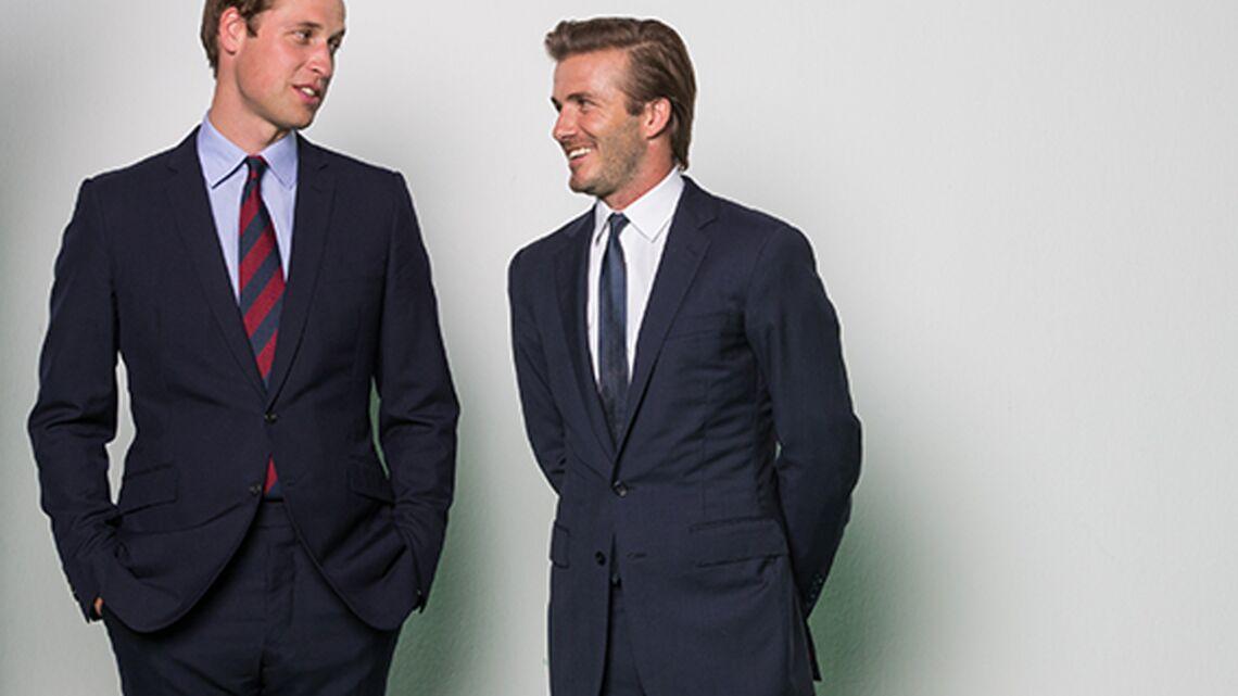 David Beckham et le prince William: tout pour les rhinos