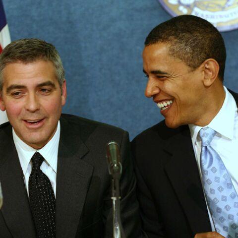 Barack Obama drague à nouveau les stars