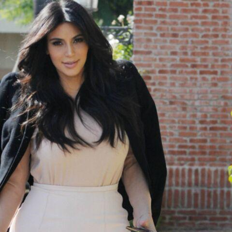 Kim Kardashian, son bébé est sa meilleure pub!