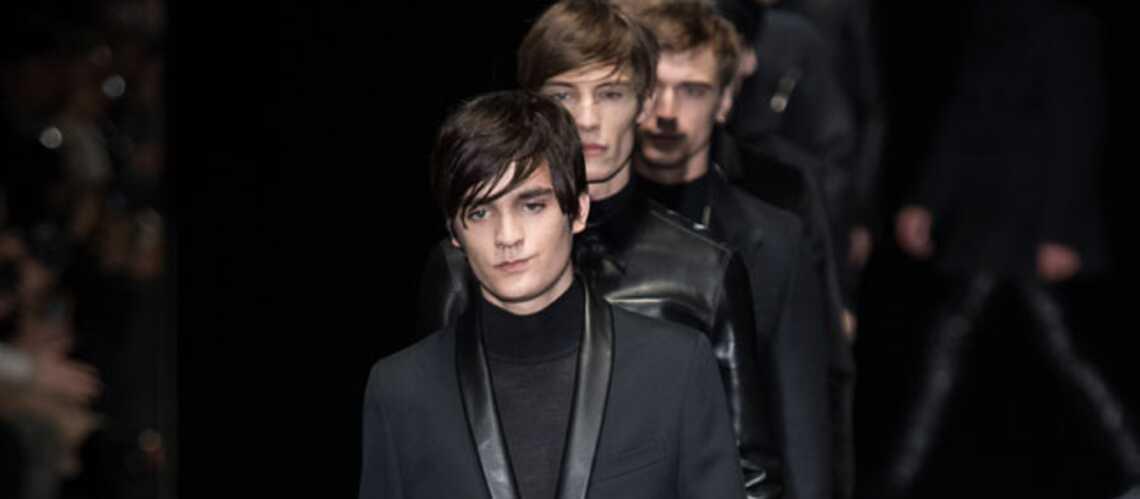 Alain-Fabien Delon, son défilé pour Gucci