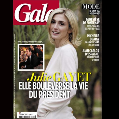 Julie Gayet: elle bouleverse la vie du Président