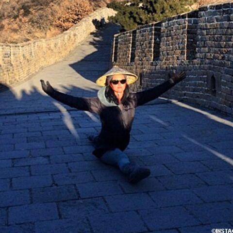 Katy Perry: et pendant ce temps, sur la Grande Muraille de Chine…