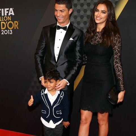 Cristiano Ronaldo: son fils et Irina Shayk, ses premiers supporters