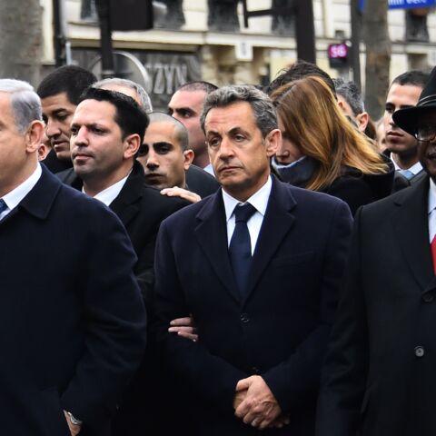 Nicolas Sarkozy dément avoir forcé le passage lors de la marche républicaine