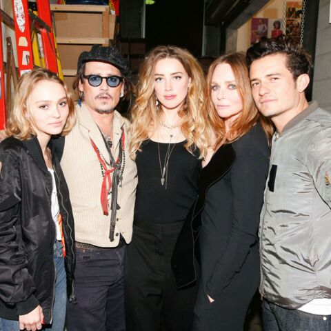 Lily-Rose et Johnny Depp, sortie père-fille