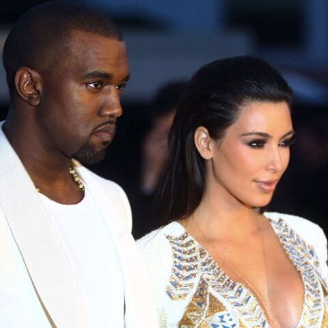 Kim Kardashian et Kanye West, l'amour flou