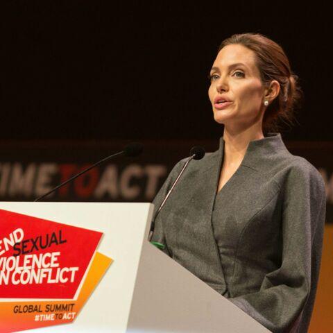 Angelina Jolie, honorée par la reine d'Angleterre