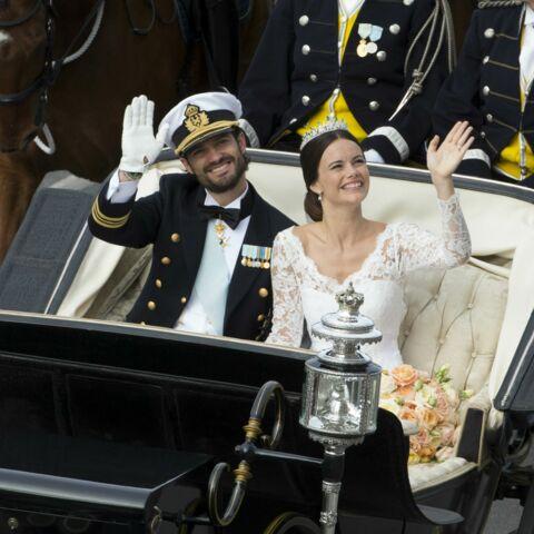 Défilé de têtes couronnées au mariage de Carl-Philip et Sofia de Suède