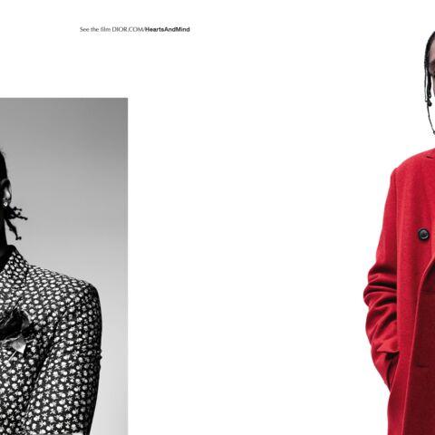 Rod Paradot et A$AP Rocky, têtes fortes de Dior Homme
