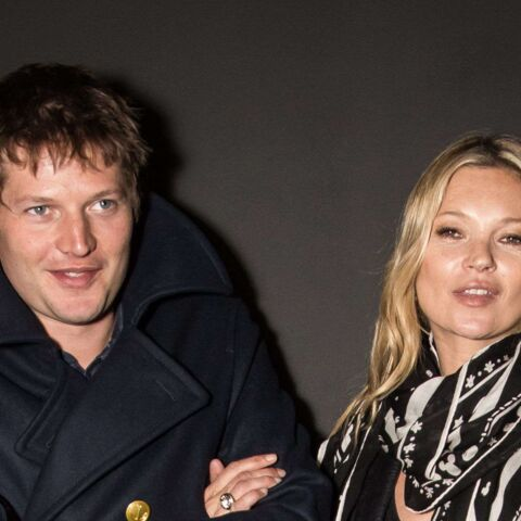 Kate Moss, son idylle à la Fashion Week de Londres