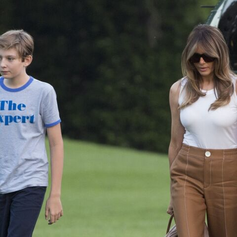 Barron Trump : le fils de Donald et Melania Trump s'improvise icône de mode ? Son t-shirt rapidement sold-out