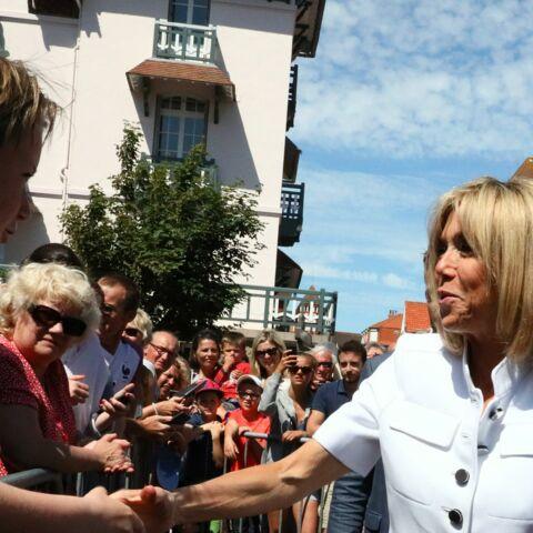 Brigitte Macron plus populaire que son mari au Touquet?