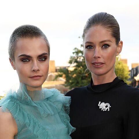 PHOTOS – Doutzen Kroes et Cara Delevingne… Les tops à la soirée de gala Tiffany & Co x Porter x Save The Elephants