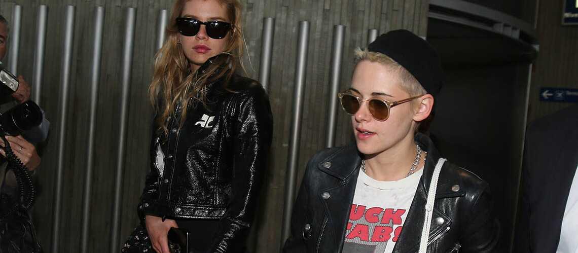 PHOTOS – Kristen Stewart et Stella Maxwell roucoulent à Paris