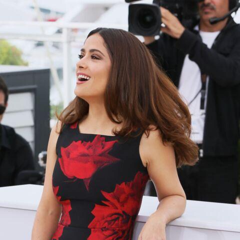 Salma Hayek, explosive à Cannes