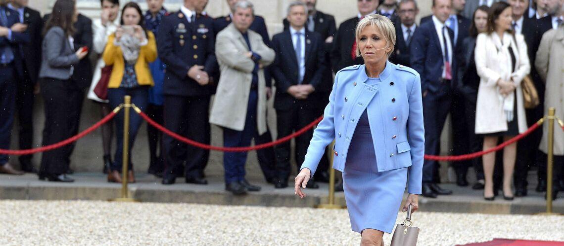 La jupe portée par Brigitte Macron à l'Elysée déclenche des propos sexistes