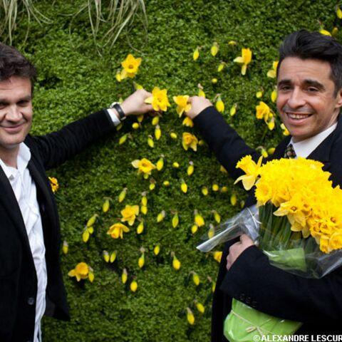 Hervé Mathoux et Ariel Wizman soutiennent Une jonquille pour Curie