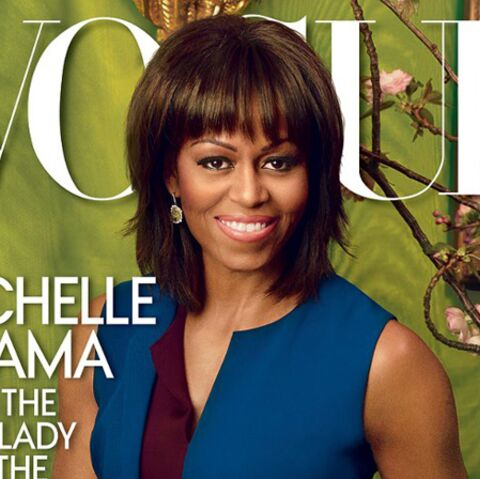 Michelle Obama cover girl en vogue