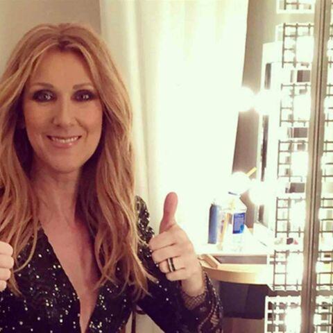 Céline Dion a séché ses larmes