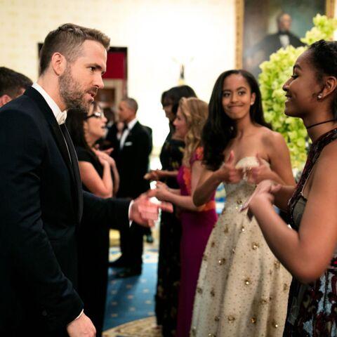 Sasha Obama amoureuse de Ryan Reynolds