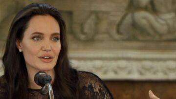 Angelina Jolie, «nerveuse», avant de donner une conférence à la London School of Economics