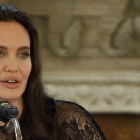 Angelina Jolie, « nerveuse », avant de donner une conférence à la London School of Economics