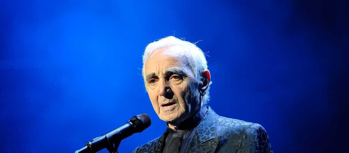 Charles Aznavour: son album repoussé à 2015