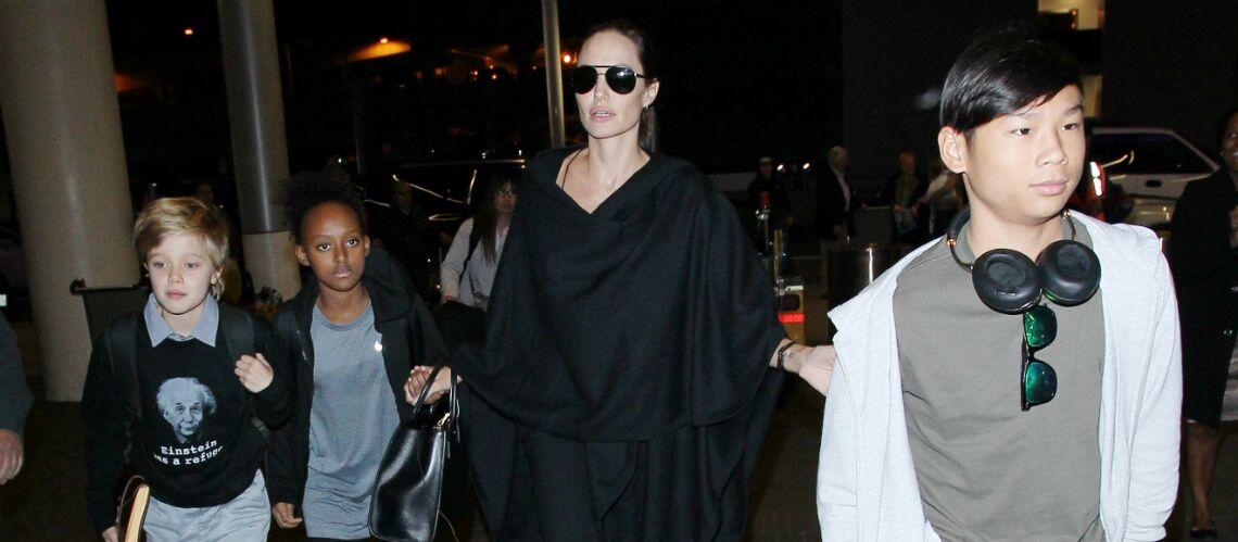 Angelina Jolie: affectée par la tristesse de ses enfants, elle cède à tous leurs caprices