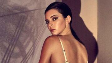 PHOTOS – Kendall Jenner fait monter la température en lingerie