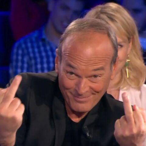 VIDEO – Laurent Baffie a adressé deux doigts d'honneur à son patron, Vincent Bolloré