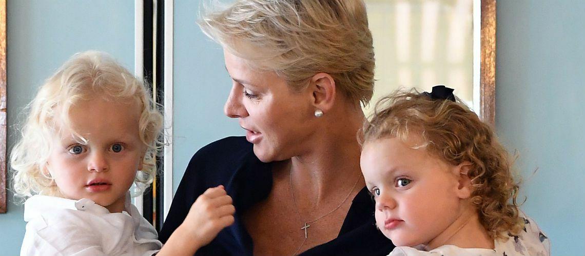 PHOTOS – Charlène de Monaco publie des photos adorables de ses bambins: ils sont inséparables