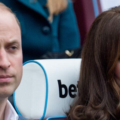 Le prince William un jeune papa exténué