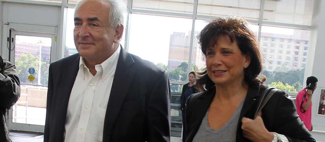 Anne Sinclair et DSK les retrouvailles