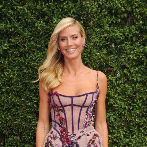 Heidi Klum: l'intrusion du téton