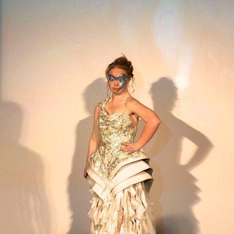 Madeline Stuart, star de la fashion week