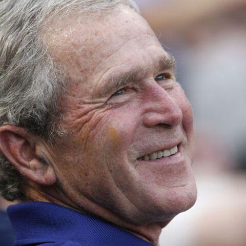 George W. Bush est grand-père