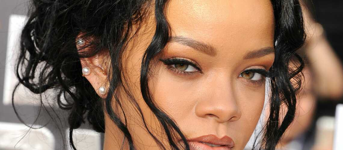 Coiffure De Star Les Meches Folles De Rihanna Gala