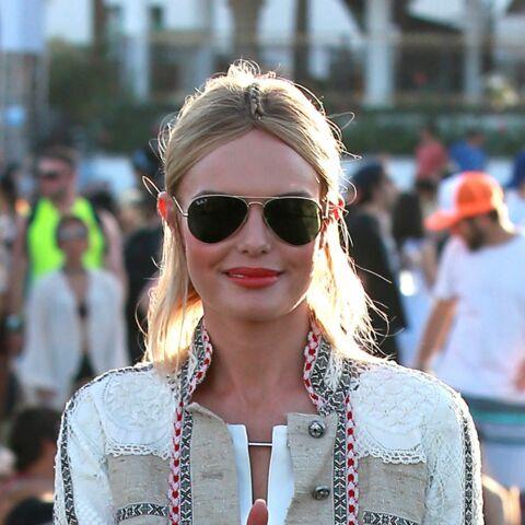 Coiffure de star: la tresse centrale de Kate Bosworth