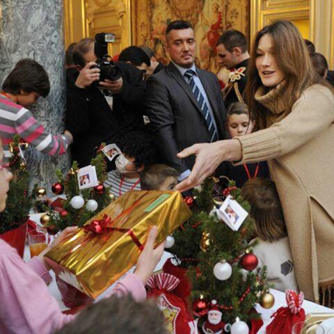 Carla Bruni-Sarkozy, son premier Noël depuis Giulia