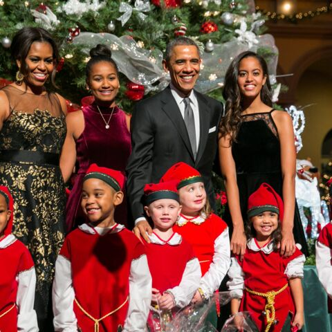 Photos- Le joyeux Noël des Obama