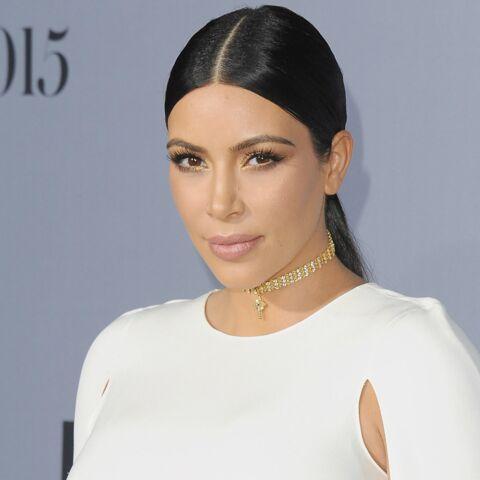 Kim Kardashian mange le placenta de son fils