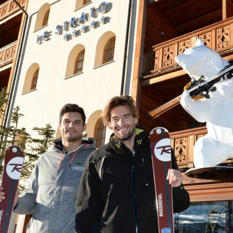 Retrouvailles au ski pour Florent Manaudou et Camille Lacourt