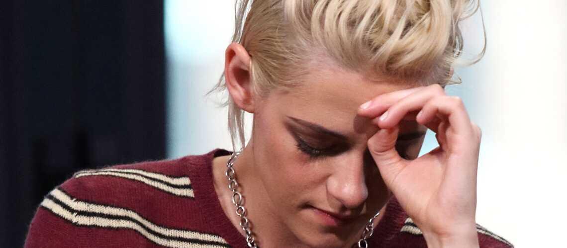 PHOTOS- Kristen Stewart apparaît le visage et les genoux blessés, au côté de sa nouvelle petite amie