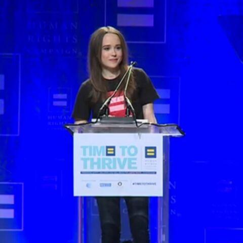 Ellen Page: «Je suis gay et je suis fatiguée de mentir»